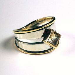Champagne Topaz Ring