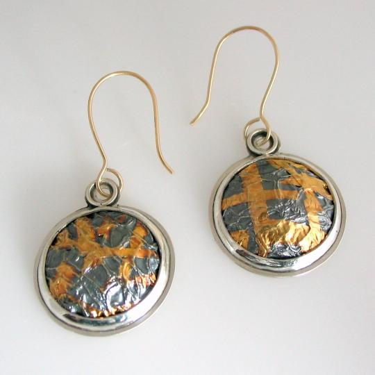 Melon Skin Earrings